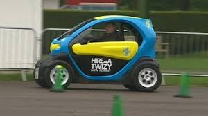 Twizy electric cars arrive on Isle of Wight