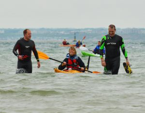 Here's a challenge – Swim to the Isle of Wight